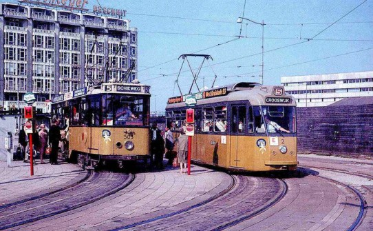 CocaCola is uit, Sprite is in. (Stationsplein 1966)