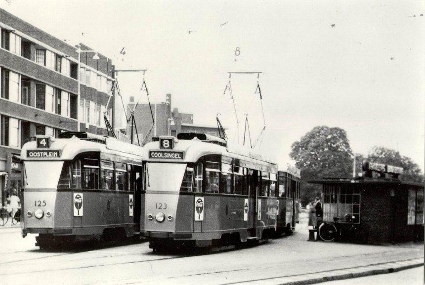 Wachthuisje, Koemarkt, Schiedam, ca. 1967