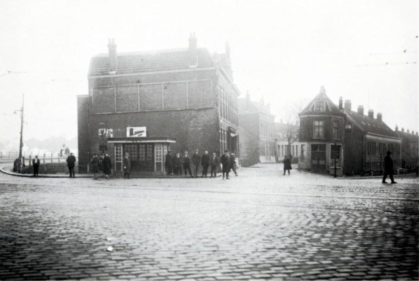 Wachthuisje 2de Rosestraat bij Hillesluis, ca. 1928