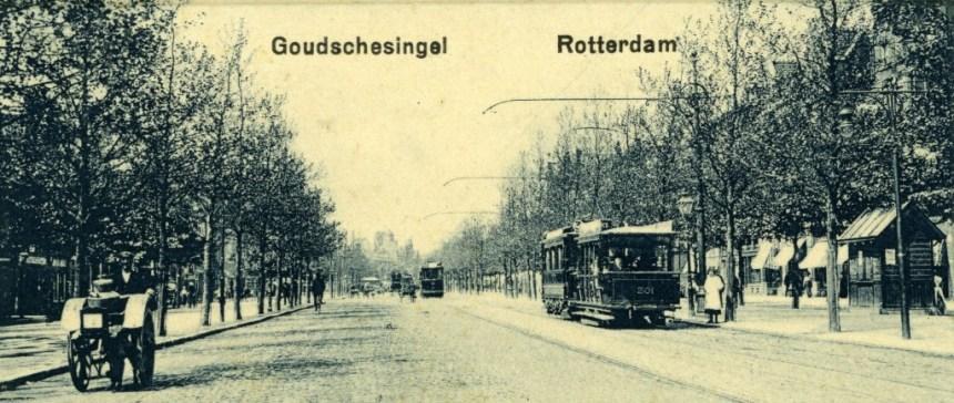AHR 201 lijn 3 Goudschesingel ca 1910
