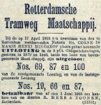 19030419 Uitloting. (AH)