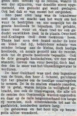 19030903 Brand remise Oostzeedijk 3. (NTC)