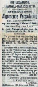 19040222 Buitengewone aandeelhoudersvergadering. (RN)