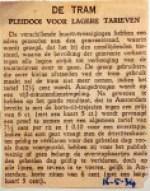 19340516 Pleidooi voor lagere tarieven