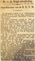 19340906 Ir. v.d. Vegt overleden