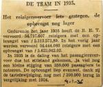 19360104 Reizigersvervoer iets gestegen, opbrengst nog lager