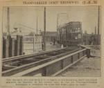 19360615 tramverkeer oprit Kreekweg, verzameling Hans Kaper
