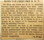 19360712 Bond van chefs der RET