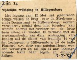 19370511 Tijdelijke wijziging lijn 14 Hillegersberg