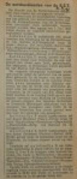 19400531 buslijnen weer in dienst, verzameling Hans Kaper
