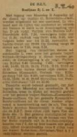 19400803 buslijnen D L K weer in bedrijf, verzameling Hans Kaper
