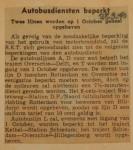 19400928 autobusdiensten beperkt, verzameling Hans Kaper
