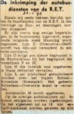19420130 De Inkrimping der autobusdiensten