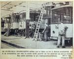 19420224 Overvolle tramwagens zorgen voor veel werk
