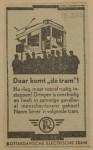19430319 advertentie daar komt de tram, verzameling Hans Kaper