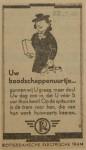 19430322 advertentie uw boodschappenuurtje, verzameling Hans Kaper