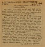 19440121-Dienstorder-356, verzameling Hans Kaper