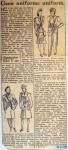 19440218 Geen uniforme uniform (Telegraaf)