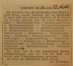 19440412-Nieuwe-tramlijn-20, verzameling Hans Kaper