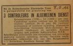 19440608-advertentie-3-controleurs, verzameling Hans Kaper
