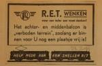 19440729-advertentie-middenbalcon-verboden-terrei, verzameling Hans Kaper