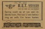 19440818-advertentie-spring-nooit-van-de-tram,  verzameling Hans Kaper