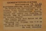 19441013-Beperking-dienst-tot-spitsuren, Verzameling Hans Kaper