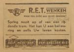 19441027-advertentie-spring-nooit-van-de-tram,  verzameling Hans Kaper
