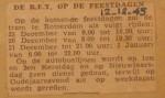 19451212-De-RET-op-de-feestdagen, Verzameling Hans Kaper