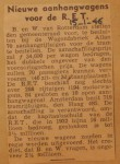 19460115-Nieuwe-aanhangwagens-voor-de-RET, Verzameling Hans Kaper