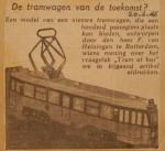 19460220-De-tramwagen-van-de-toekomst, Verzameling Hans Kaper