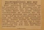 19460301-Tramverbinding-met-het-Westplein, Verzameling Hans Kaper
