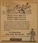 19460617-Advertentie-wilde-beesten, Verzameling Hans Kaper