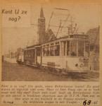 19460806-RET-trams-in-Den-Haag, Verzameling Hans Kaper
