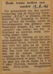 19460819-Rondrit-oude-trams-S.T.A.-24-augustus,  Verzameling Hans Kaper