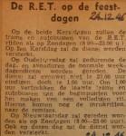 19461224-De-RET-op-de-feestdagen, Verzameling Hans Kaper