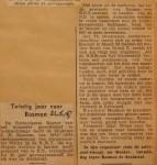 19470621-Twintig-jaar-voor-Rosman, Verzameling Hans Kaper