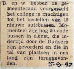 19470905 Voorstel bestelling 15 nieuwe autobussen