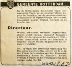 19471120 Advertentie Directeur RET