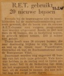19480221-20-nieuwe-bussen-voor-de-RET, Verzameling Hans Kaper