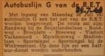 19480724-Autobuslijn-G-van-de-RET, Verzameling Hans Kaper
