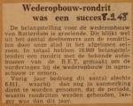 19480908-Wederopbouwrondrit-een-succes, Verzameling Hans Kaper