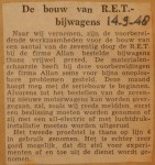 19480914-Bouw-RET-bijwagens, Verzameling Hans Kaper
