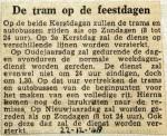 19481222 De tram op de feestdagen