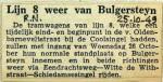 19491025 Lijn 8 weer van Bulgersteyn