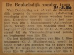 19500321-Beukelsdijk-tijdelijk-zonder-tram, Verzameling Hans Kaper