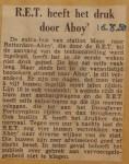 19500816-RET-druk-door-Ahoy, Verzameling Hans Kaper