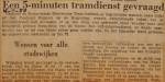 19501116-5-minutentramdienst-gevraagd, Verzameling Hans Kaper