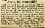 19501216 Abri's bij tramhalten