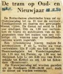 19501228 De tram op Oud- en Nieuwjaar (NRC)
